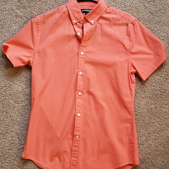 Express Other - Express short sleeve button up